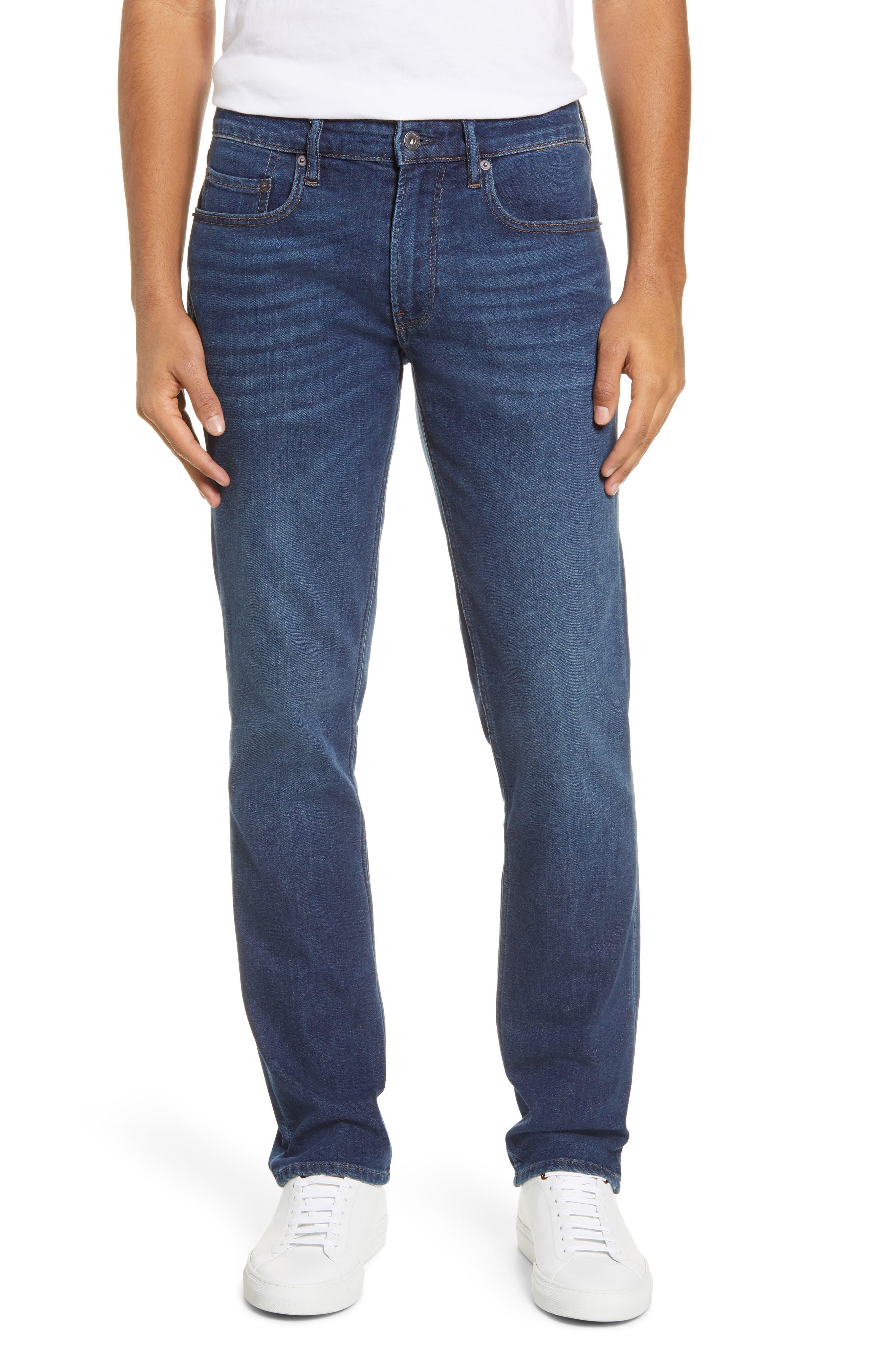 Men's Bonobos Lightweight Slim Fit Jeans,  29 x 32 - Blue