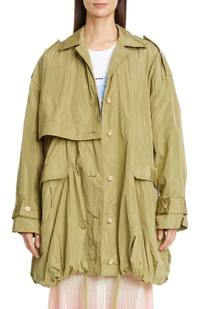 JACQUEMUS Ouro Bubble Hem Parka, Main, color, 300