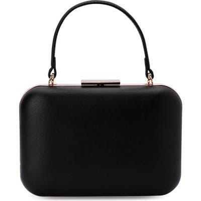Olga Berg Ruby Top Handle Shoulder Bag - Black