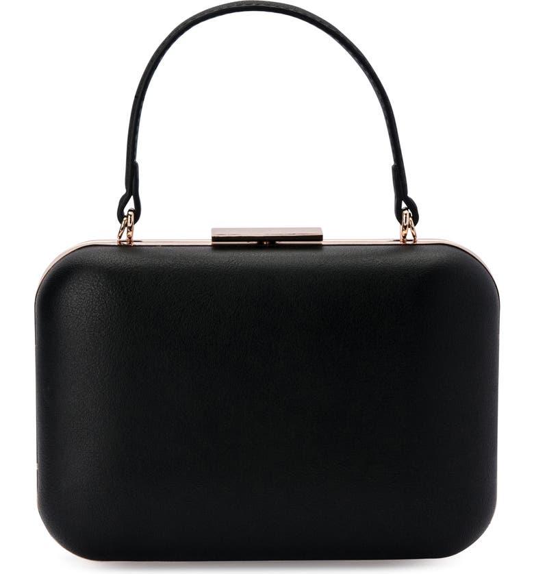 OLGA BERG Ruby Top Handle Shoulder Bag, Main, color, 001