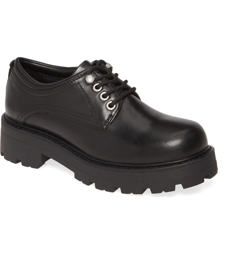 VAGABOND SHOEMAKERS Cosmo Oxford, Main, color, BLACK LEATHER