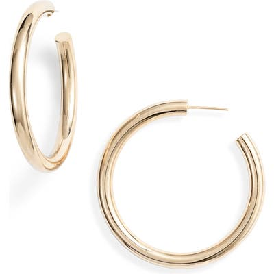 Jennifer Zeuner Lou Medium Hoop Earrings