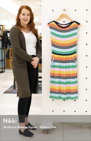 Eleanor Print Jersey Dress, sales video thumbnail