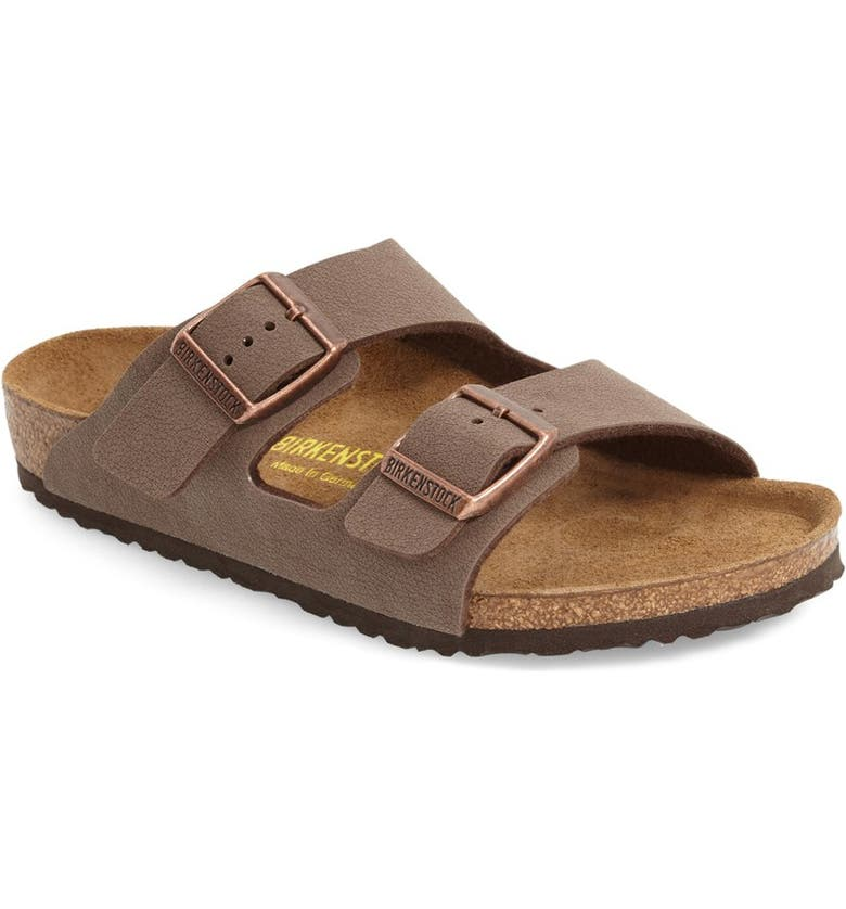 BIRKENSTOCK 'Arizona' Suede Sandal, Main, color, MOCHA