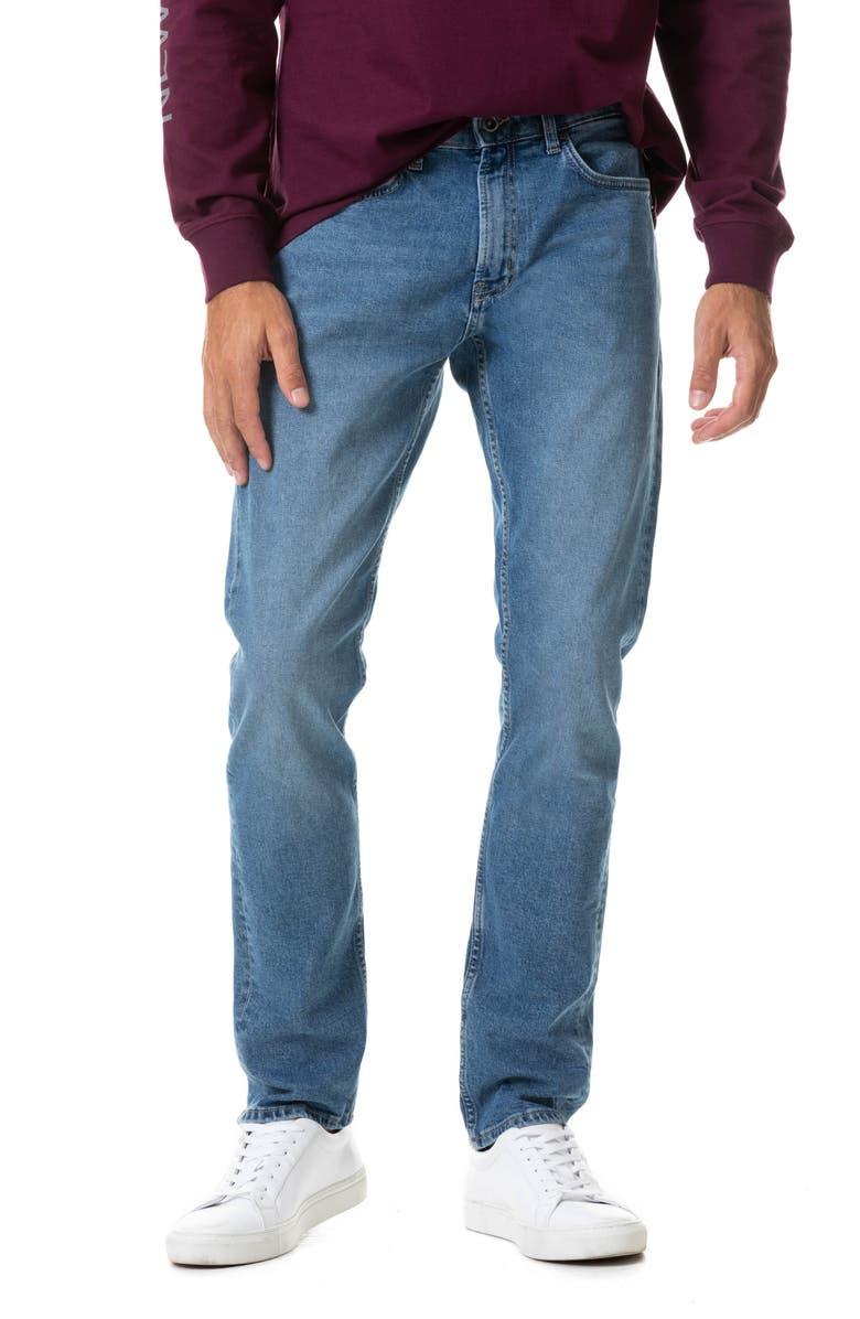 RODD & GUNN Lowry Straight Leg Jeans, Main, color, SKY BLUE