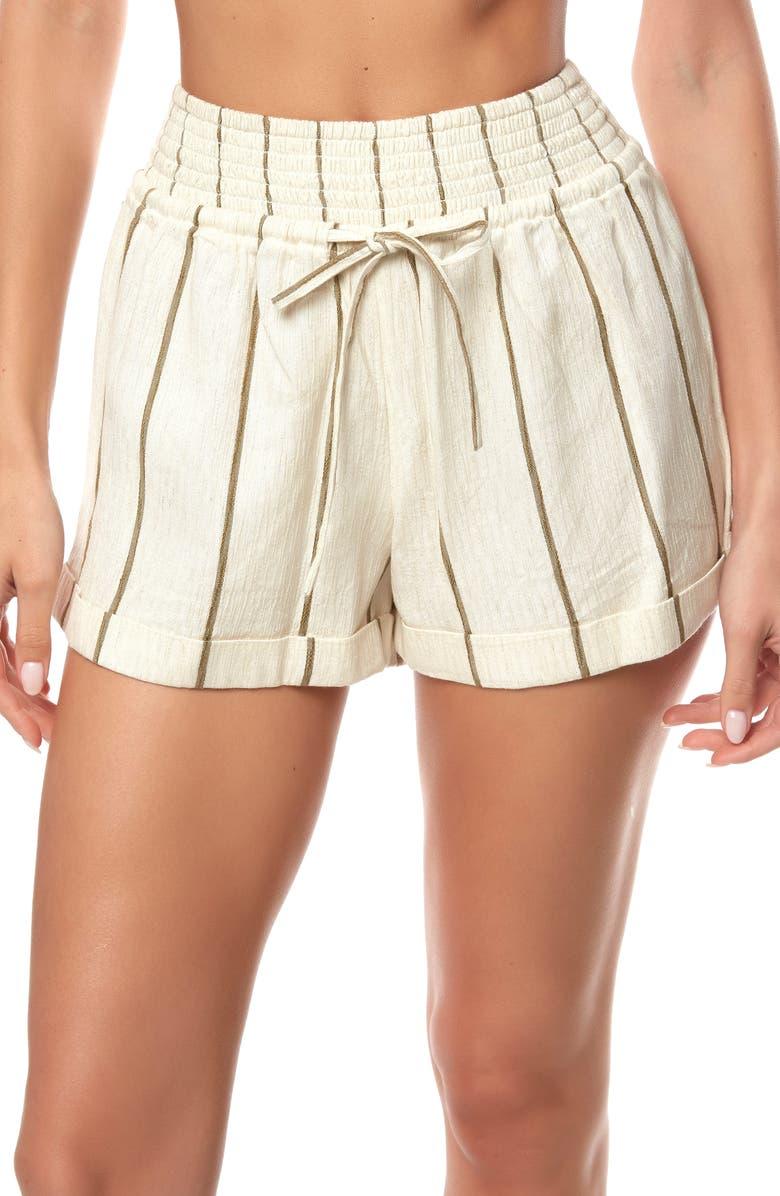 O'NEILL Ethan Stripe Shorts, Main, color, NAKED