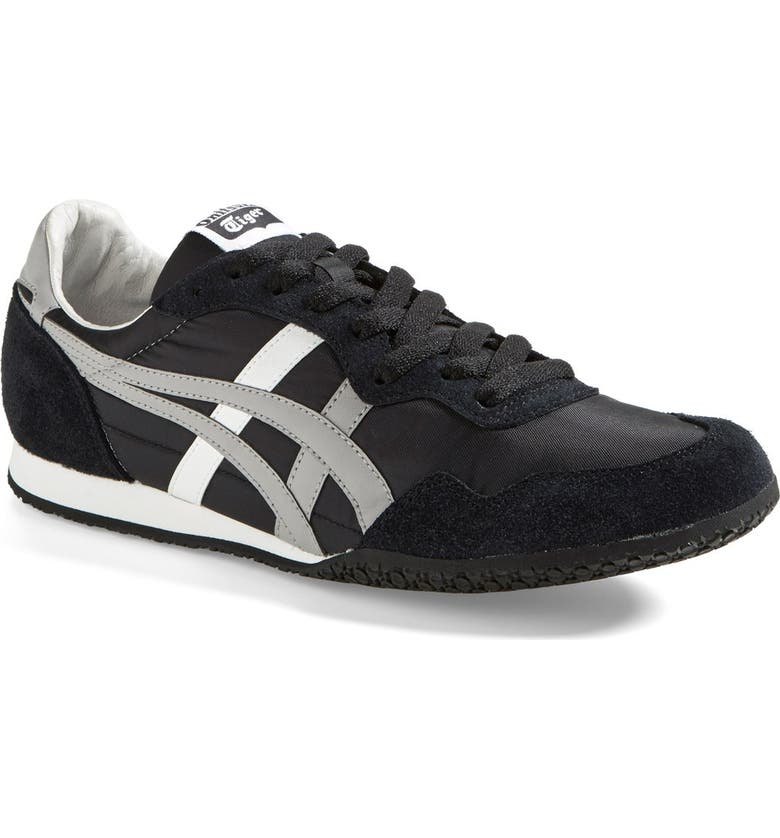 ONITSUKA TIGER<SUP>™</SUP> 'Serrano' Sneaker, Main, color, BLACK/ LIGHT GREY/ WHITE