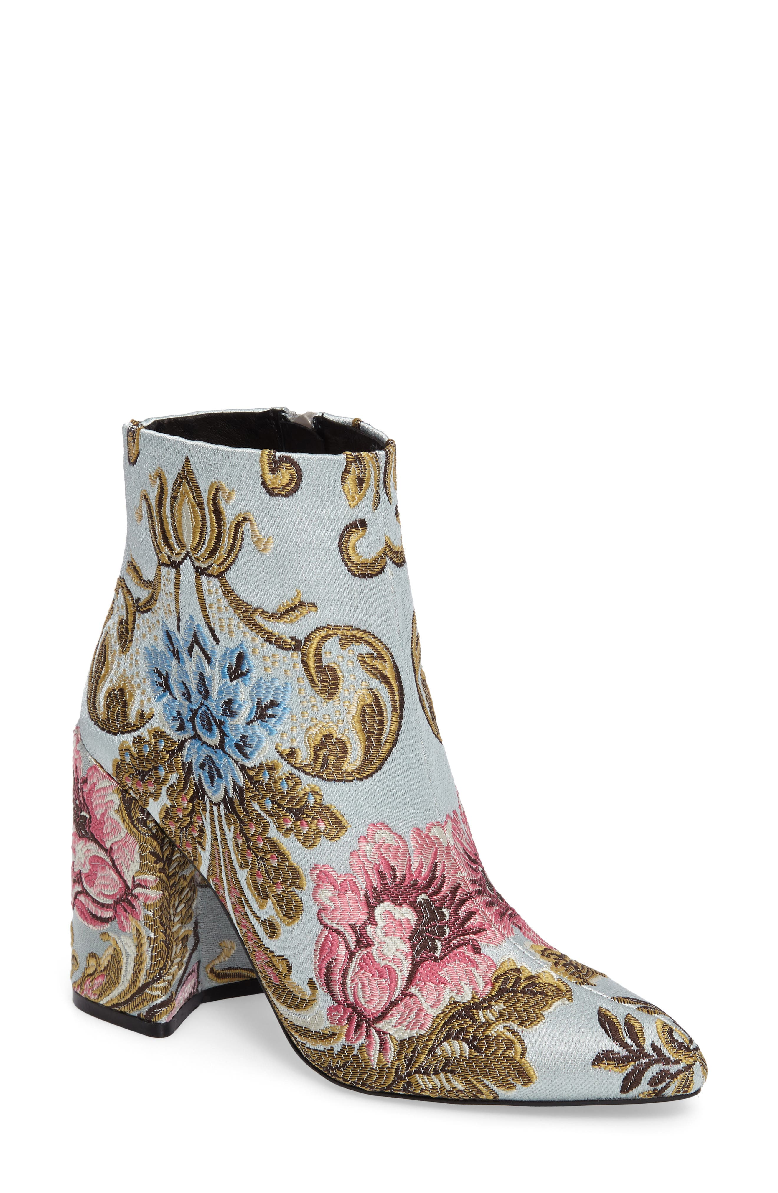 ,                             Emmy Brocade Bootie,                             Main thumbnail 7, color,                             400