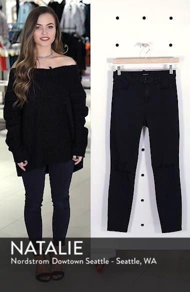 Alana High Waist Ankle Skinny Jeans, sales video thumbnail