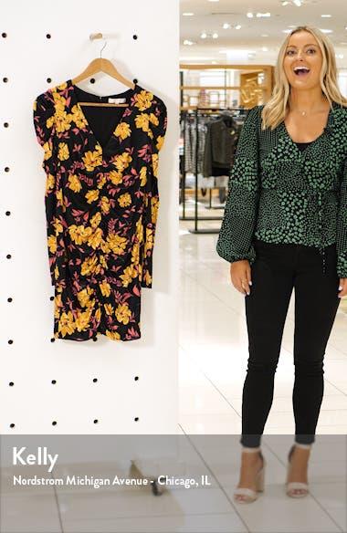 Fidella Long Sleeve Minidress, sales video thumbnail
