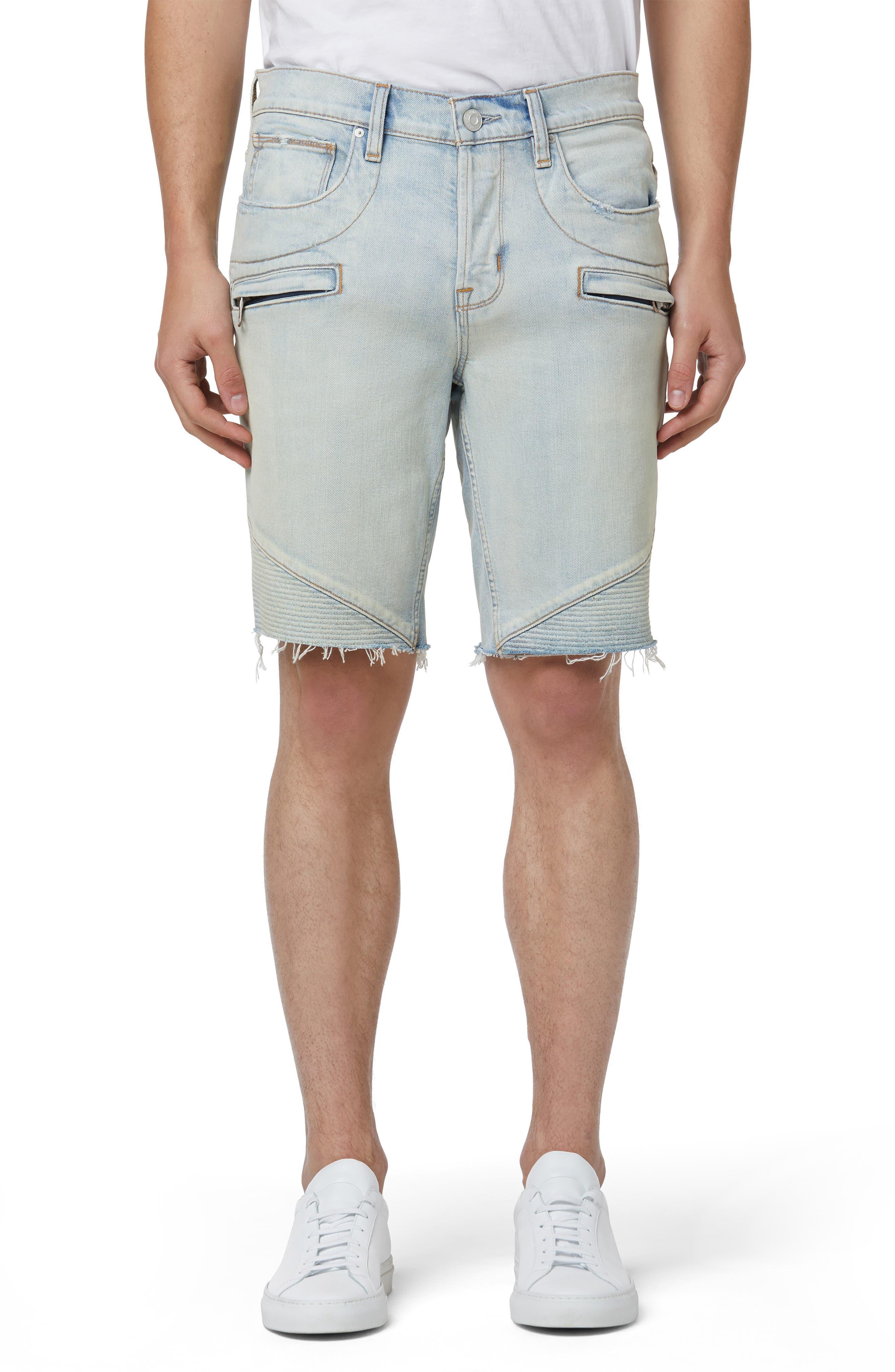 Men's Hudson The Blinder V.2 Denim Biker Shorts