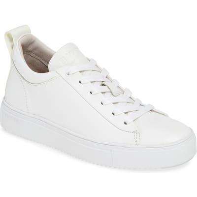 Blackstone Rl65 Mid Top Sneaker, White