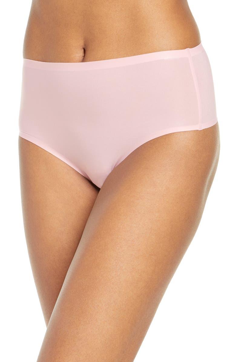 CHANTELLE LINGERIE Soft Stretch Seamless Retro Thong, Main, color, ROSE TUTU