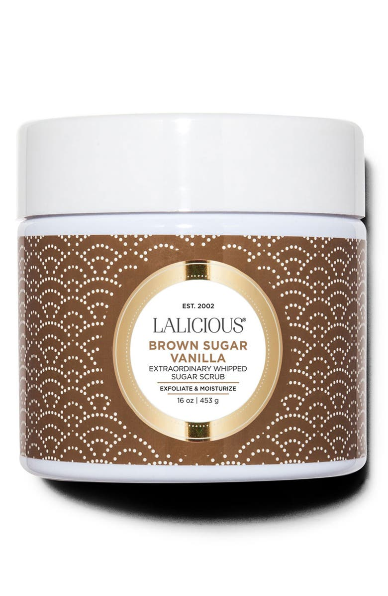 LALICIOUS Extraordinary Whipped Sugar Scrub, Main, color, SUGAR BROWN VANILLA