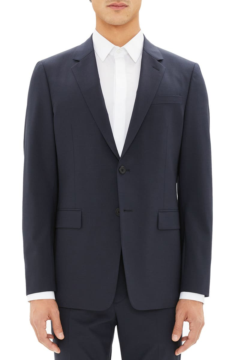 THEORY New Tailor Chambers Suit Jacket, Main, color, NAVY