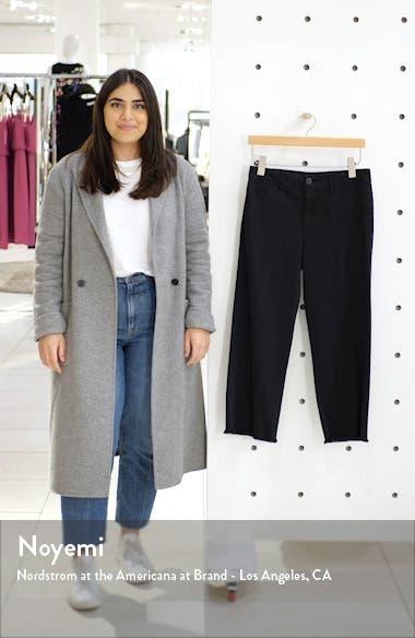 Wide Leg Raw Hem Crop Pants, sales video thumbnail