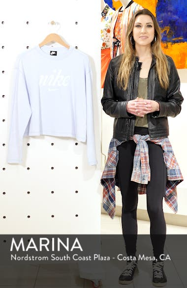 Sportswear Wish Graphic Sweatshirt, sales video thumbnail