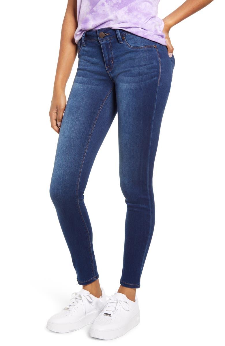 1822 DENIM Butter Skinny Jeans, Main, color, ZIGGY MED WASH