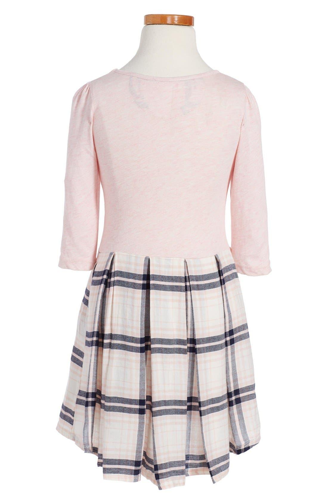 ,                             Pleated Knit Dress,                             Alternate thumbnail 5, color,                             680