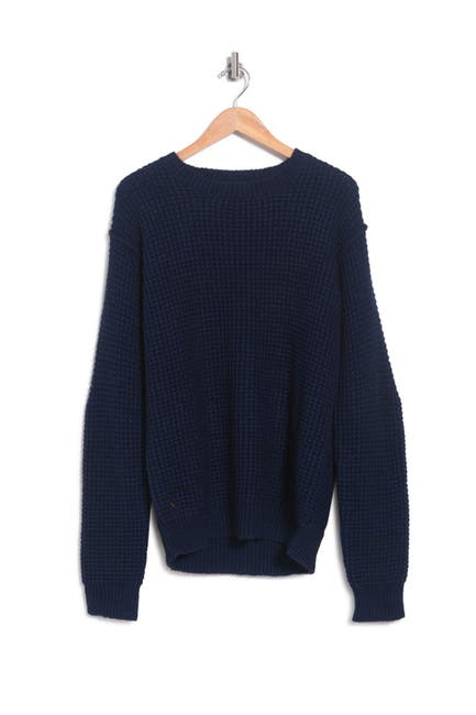 Image of Zadig & Voltaire Jary Waffle Knit Alpaca & Merino Wool Blend Sweater