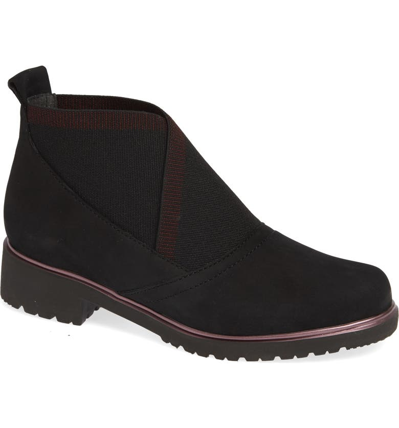 MUNRO Kinston Bootie, Main, color, BLACK NUBUCK