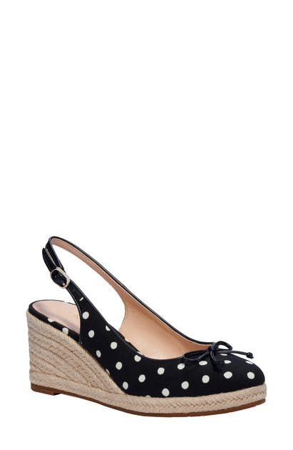 Kate Spade PANAMA NIGHTS ESPADRILLE WEDGE
