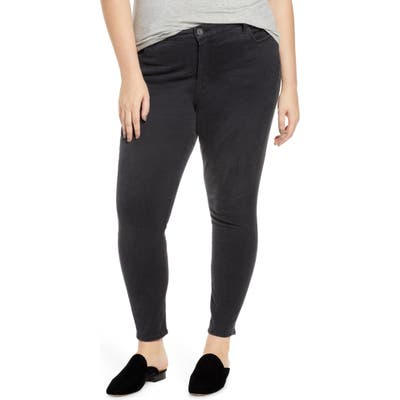 Plus Size Kut From The Kloth Donna High Waist Ankle Skinny Jeans, Black