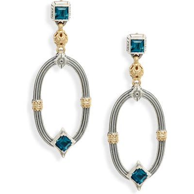 Konstantino Delos Topaz Drop Earrings