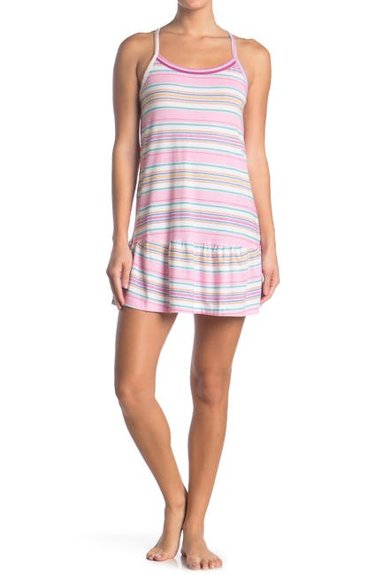 Image of Jane & Bleecker New York Stripe Sleep Dress