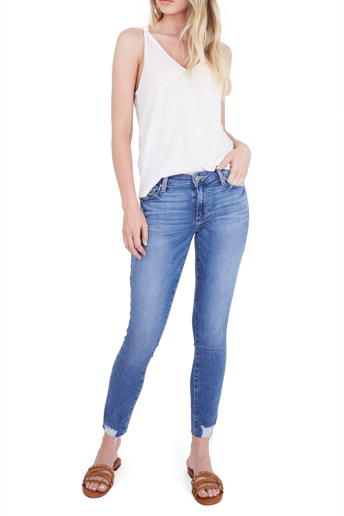 PAIGE Womens Verdugo Ankle Jean