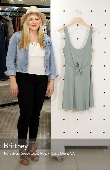 Topanga Ribbed Cover-Up Dress, sales video thumbnail