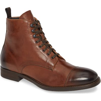 To Boot New York Richmond Cap Toe Lace-Up Boot