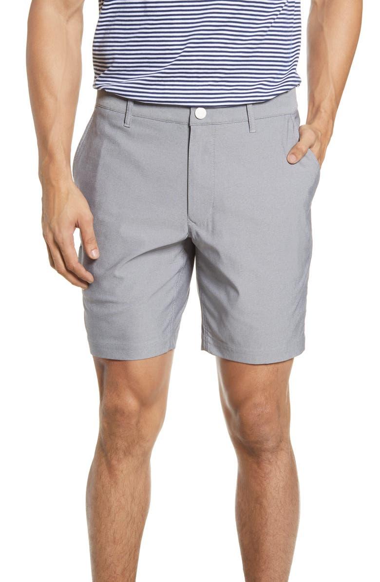 BONOBOS Lightweight Golf Shorts, Main, color, HEATHER CHARCOAL