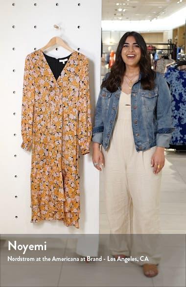 Celeste Ruffle Midi Dress, sales video thumbnail