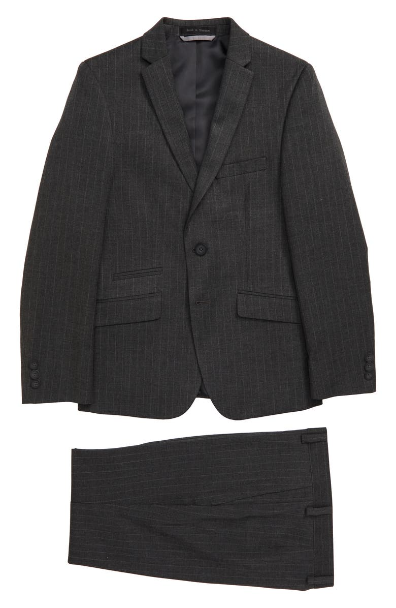 ANDREW MARC Stripe Nested Suit, Main, color, 020