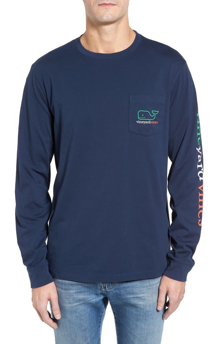 0eba01e0a Vineyard Vines St. Patrick's Day Pocket T-Shirt | Nordstrom
