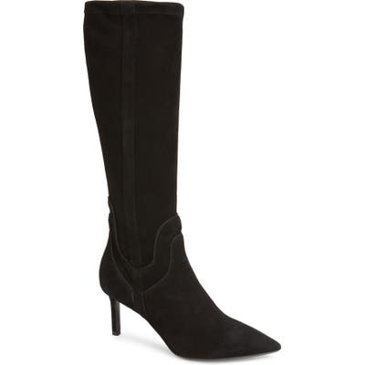 Aquatalia Mariel Weatherproof Tall Boot- Black