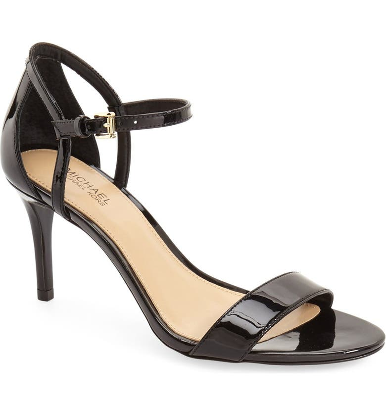 MICHAEL MICHAEL KORS 'Simone' Sandal, Main, color, BLACK