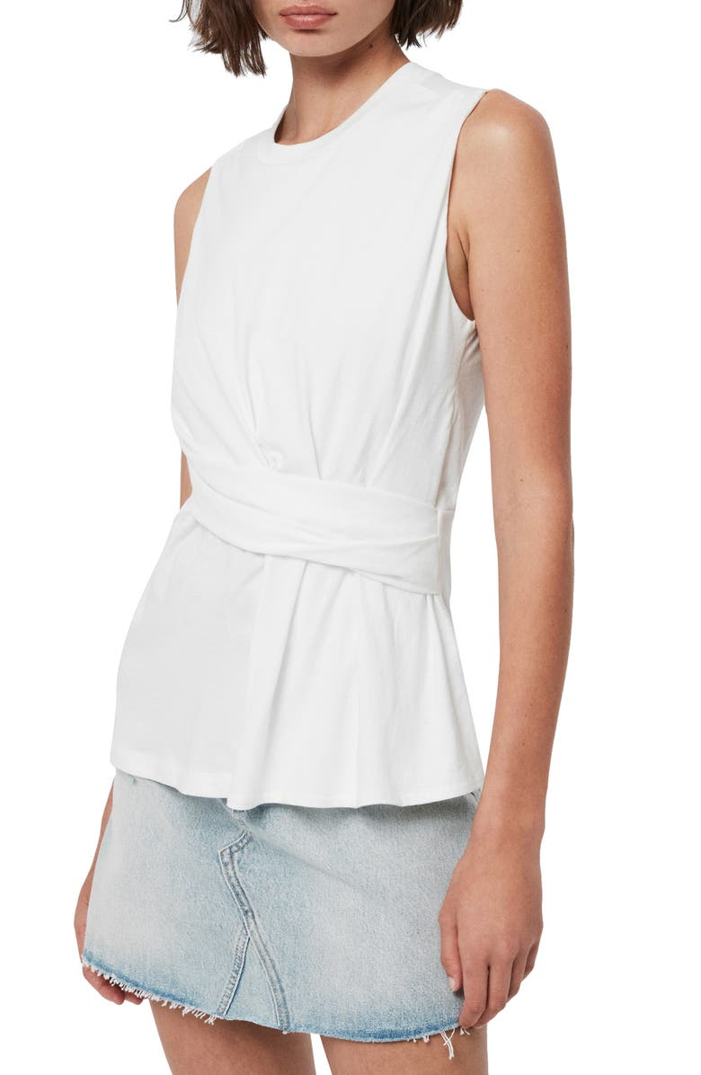 ALLSAINTS Limera Tank, Main, color, CHALK WHITE