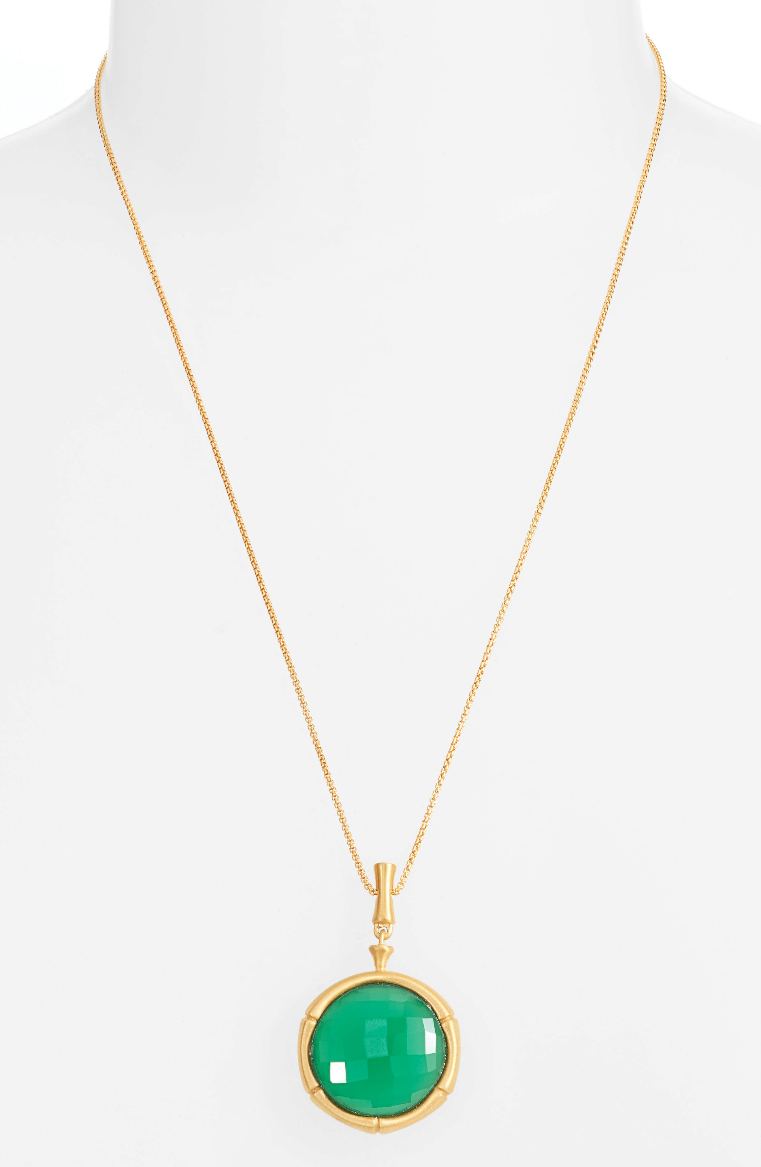 Image of DEAN DAVIDSON Bamboo Gemstone Pendant