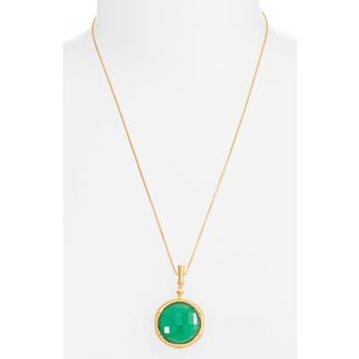 Dean Davidson Bamboo Style Stone Pendant Necklace
