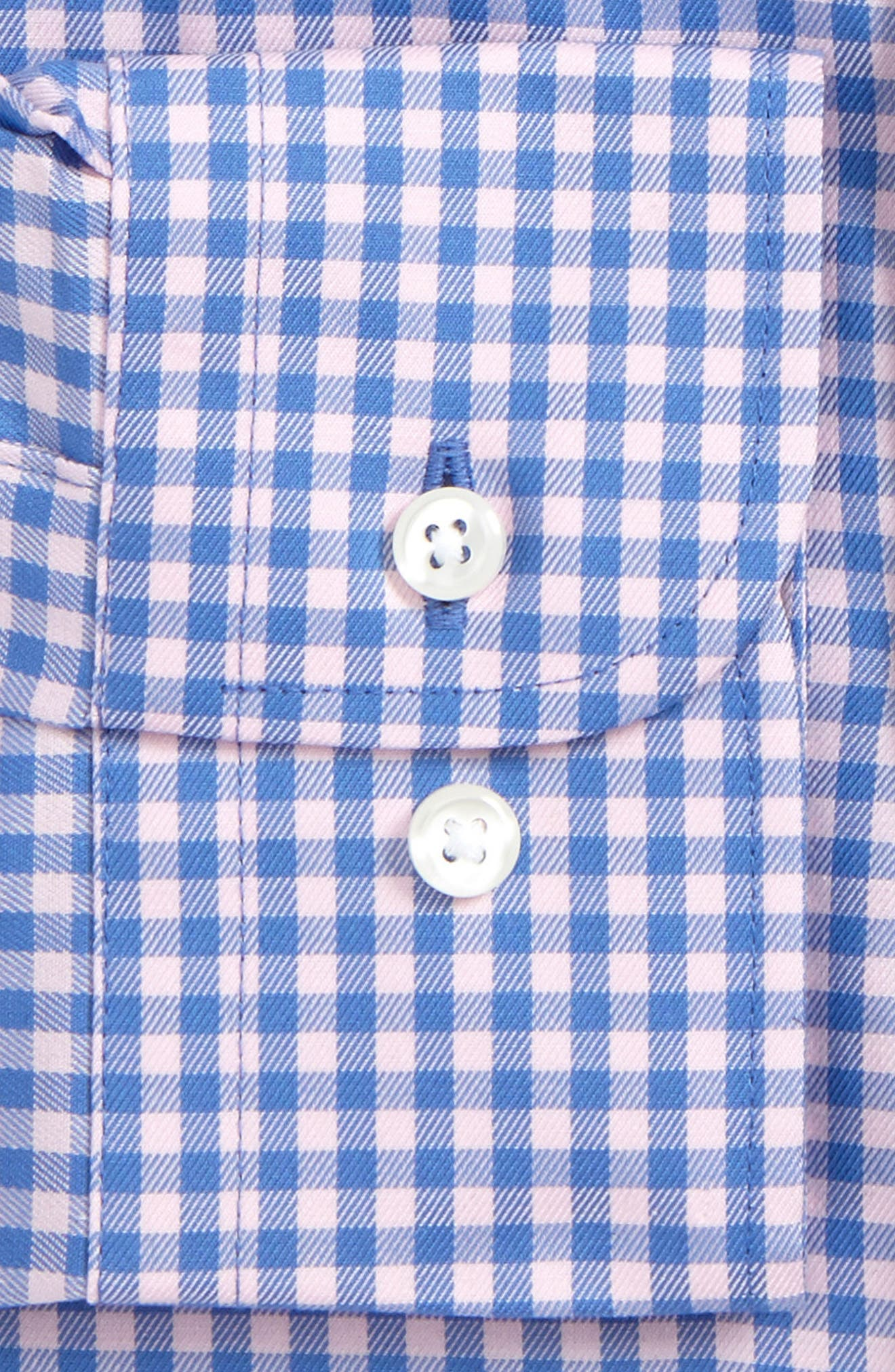 ,                             Traditional Fit Non-Iron Gingham Dress Shirt,                             Alternate thumbnail 32, color,                             650