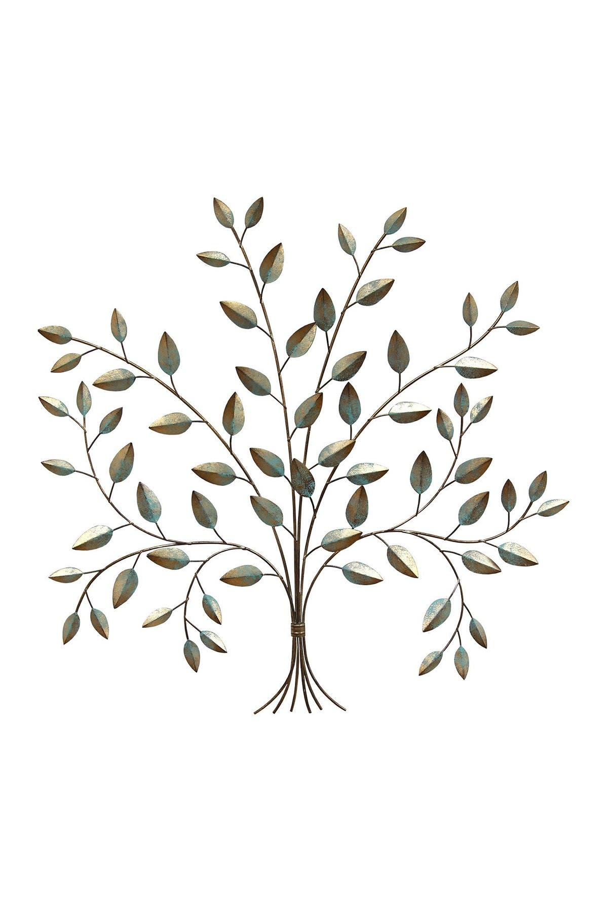 Image of Stratton Home Patina Tree of Life Wall Decor