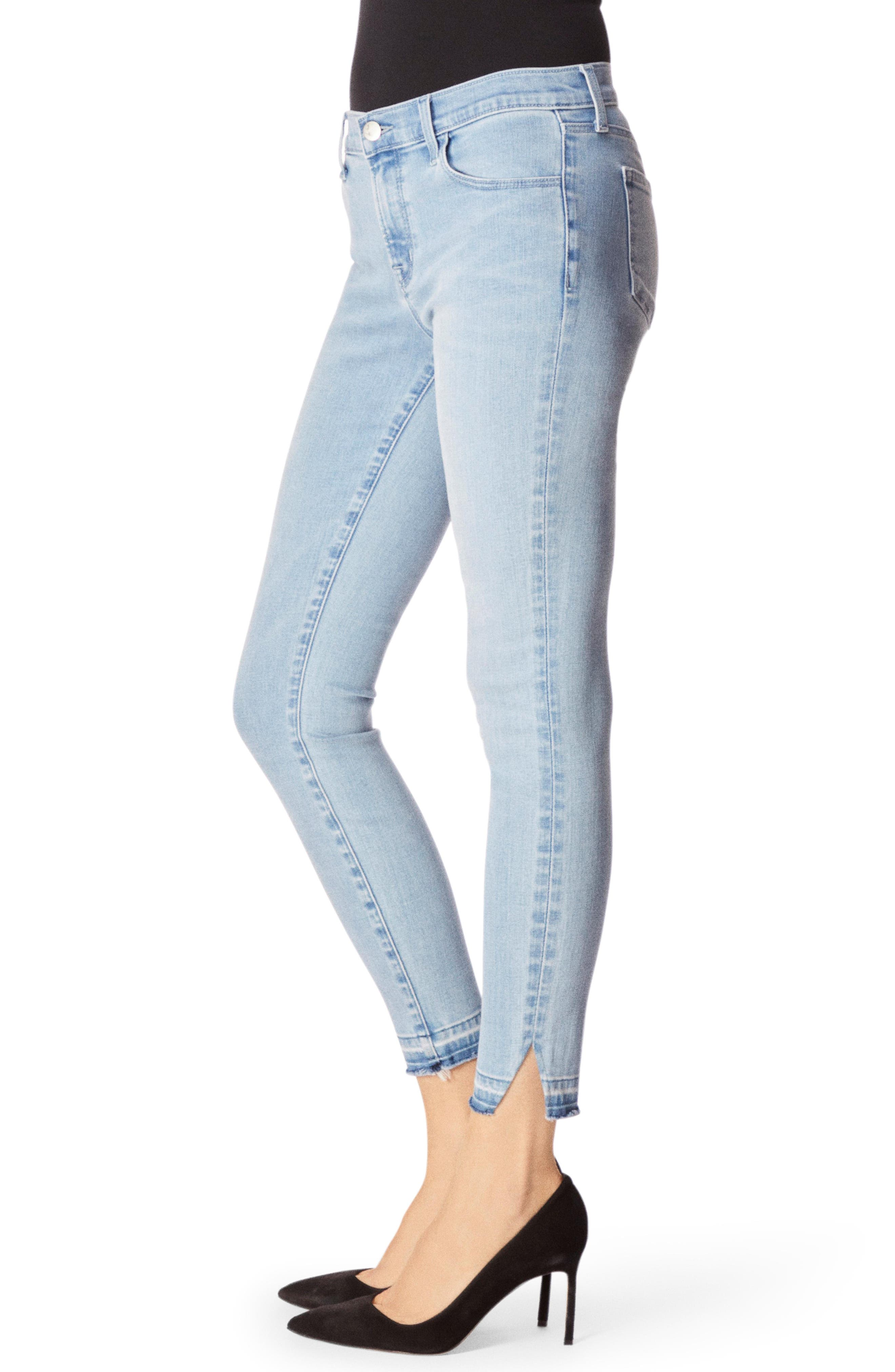 J Brand Jeans 835 Release Hem Crop Skinny Jeans