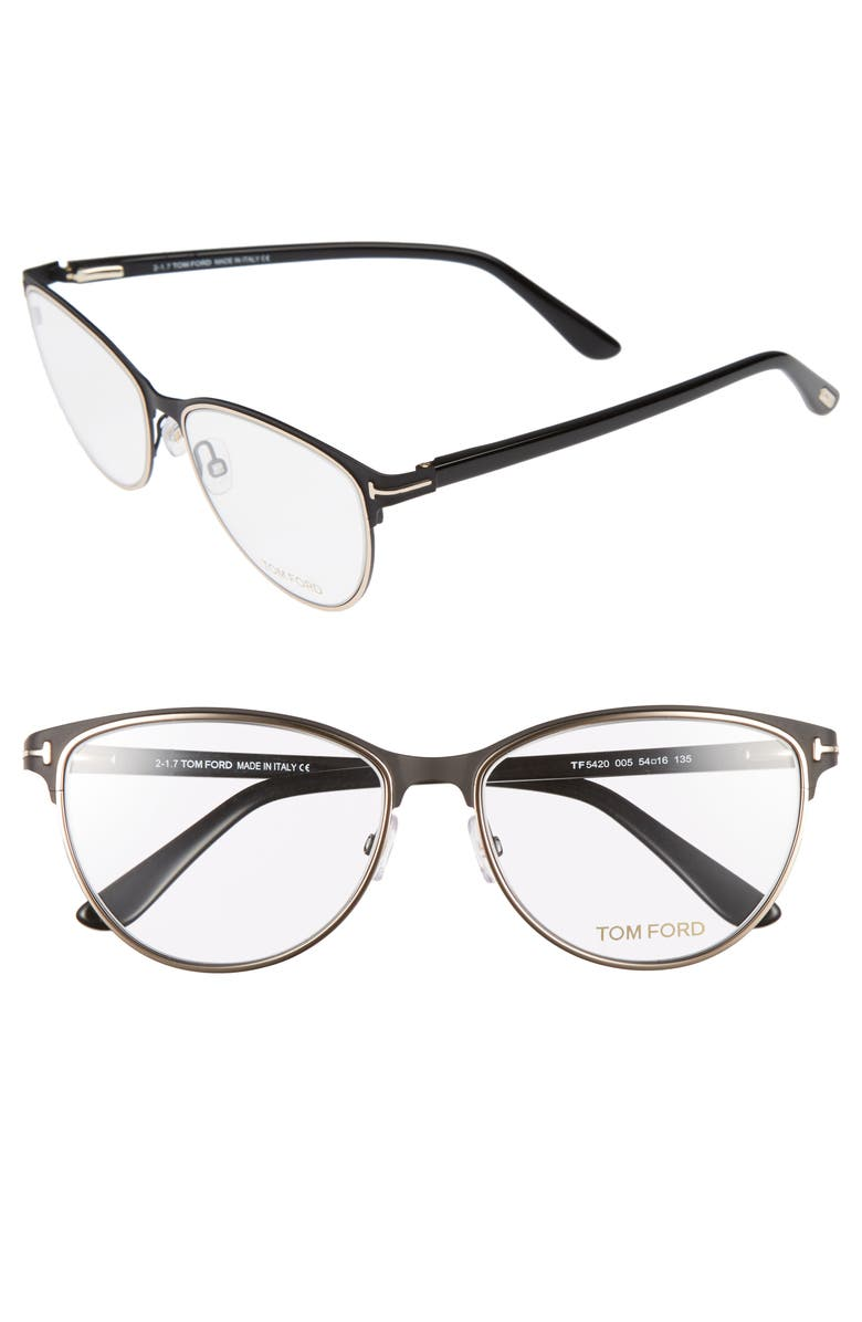TOM FORD 54mm Optical Glasses, Main, color, 001