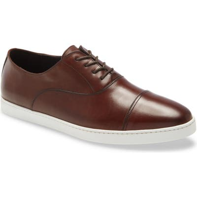 To Boot New York San Remo Cap Toe Oxford, Brown