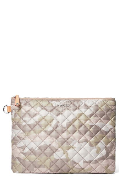 Mz Wallace Accessories METRO POUCH - BROWN