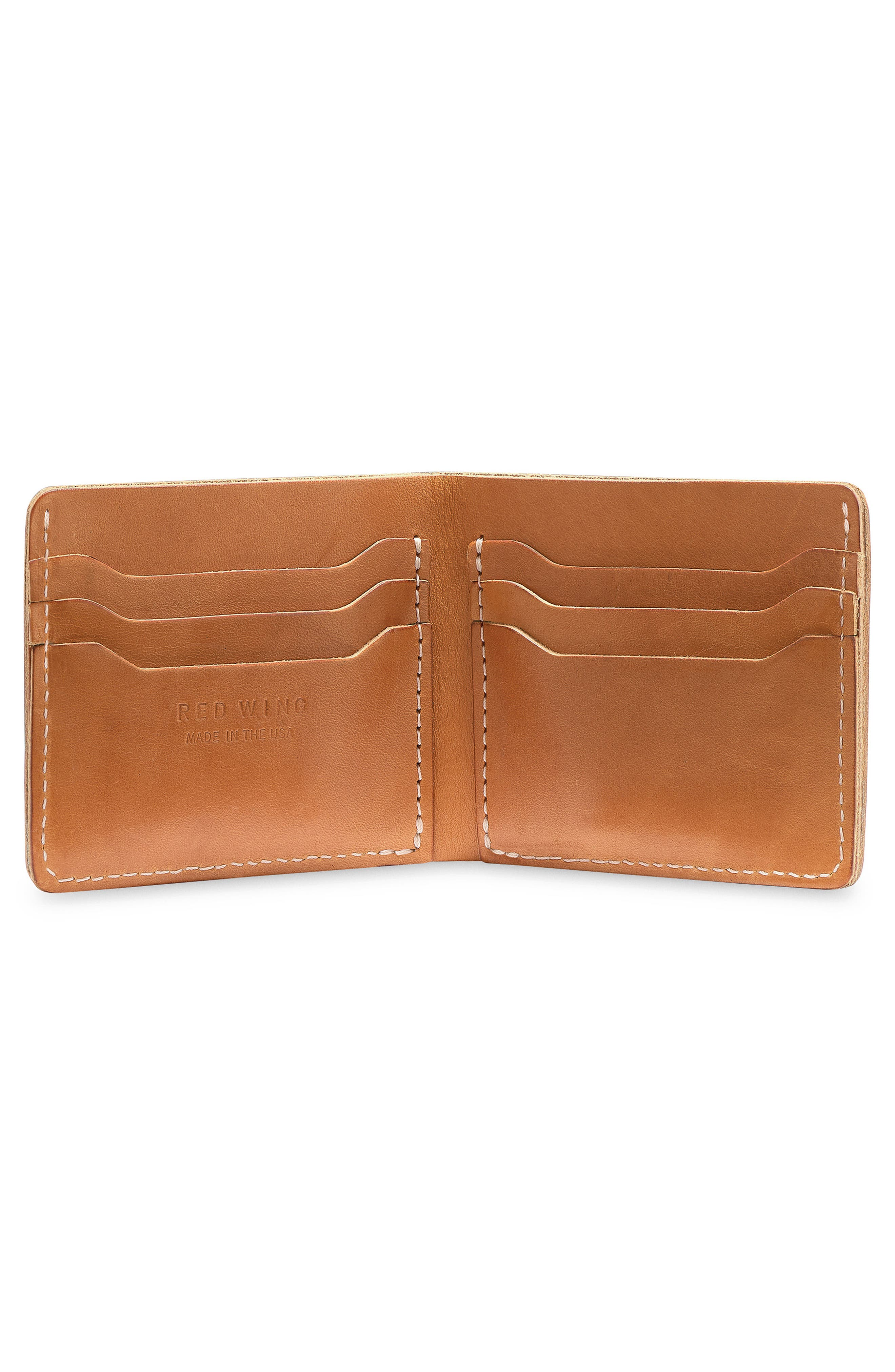 ,                             Classic Bifold Leather Wallet,                             Alternate thumbnail 2, color,                             TANNED VEGETABLE