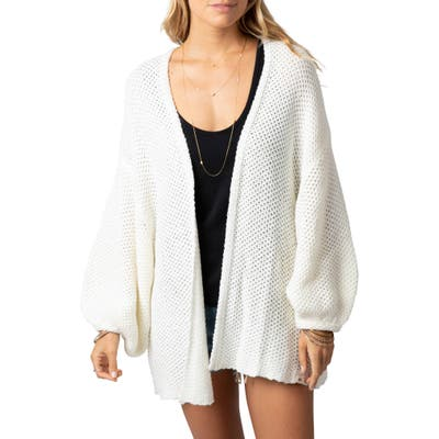 Rip Curl Warm Up Balloon Sleeve Cardigan