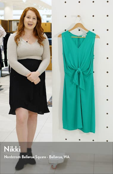 Sleeveless Tie Front Dress, sales video thumbnail